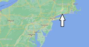 Où se trouve le Connecticut