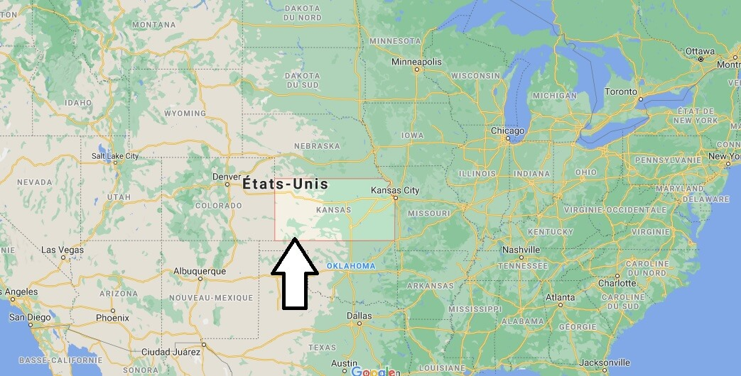 Où se trouve le Kansas