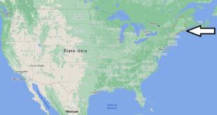 Où se trouve le Maine