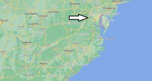 Où se trouve le Maryland