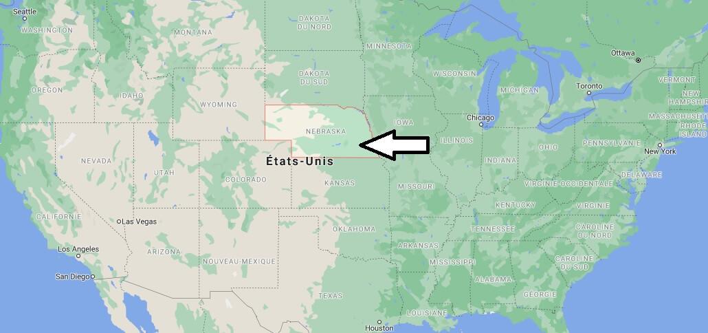 Où se trouve le Nebraska
