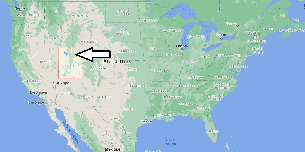 Où se trouve le Utah