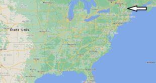 Où se trouve le Vermont