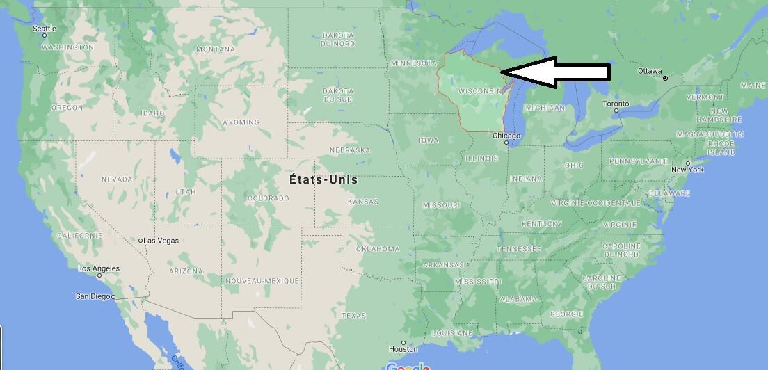 Où se trouve le Wisconsin