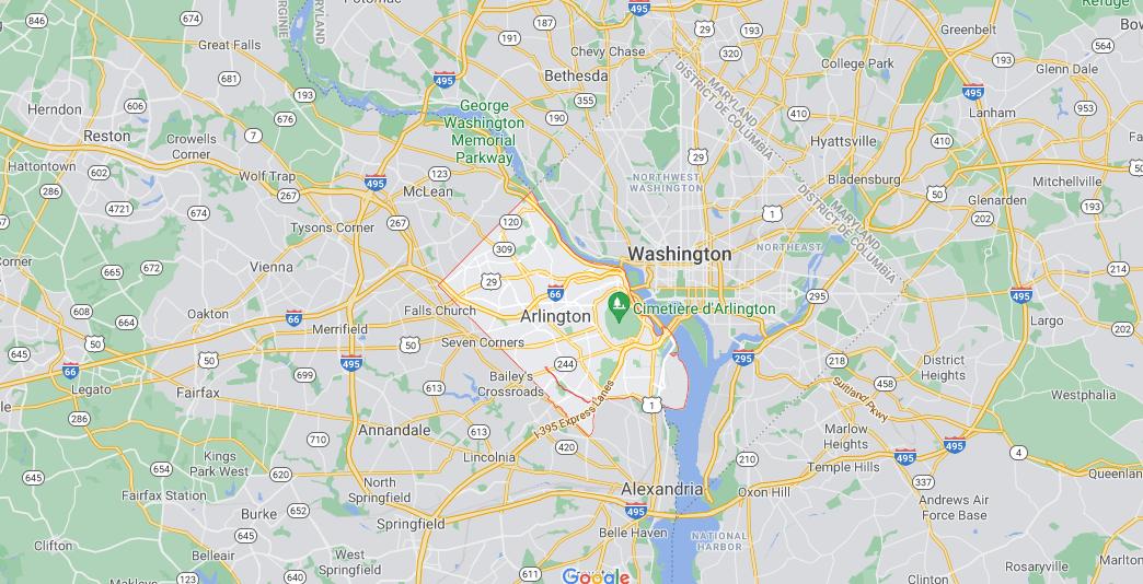 Quelle est la capitale de Arlington