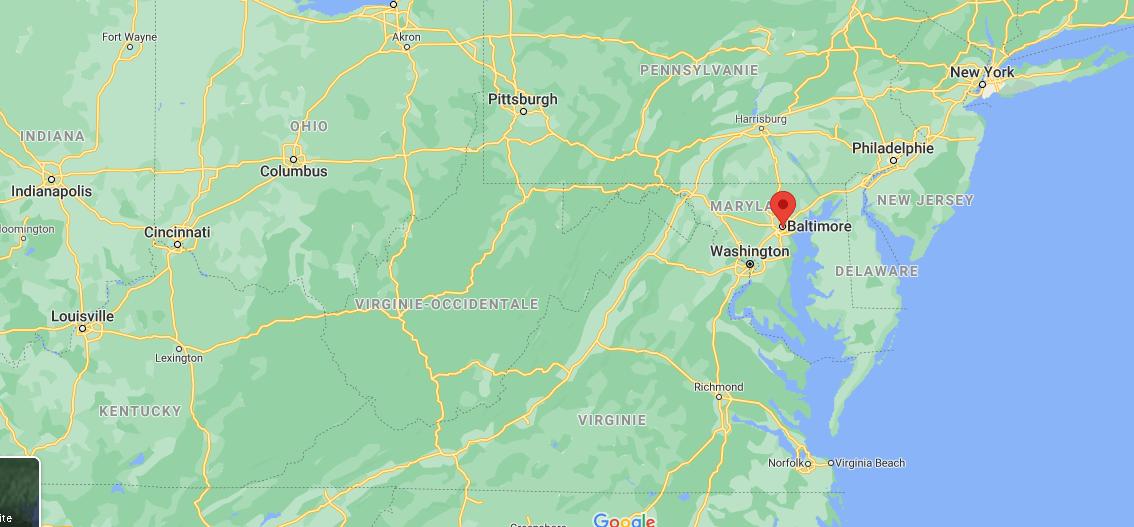 Quelle est la capitale de Baltimore