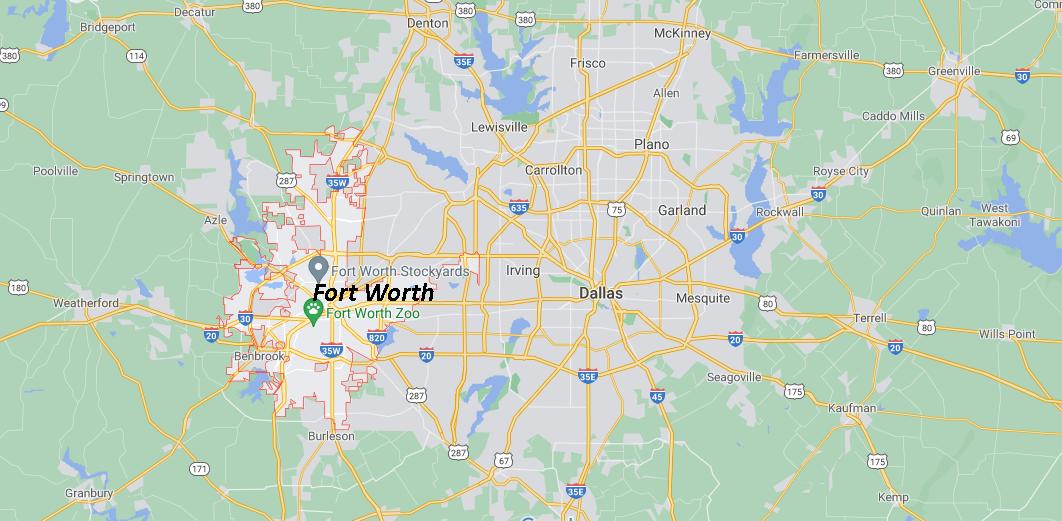 Quelle est la capitale de Fort Worth