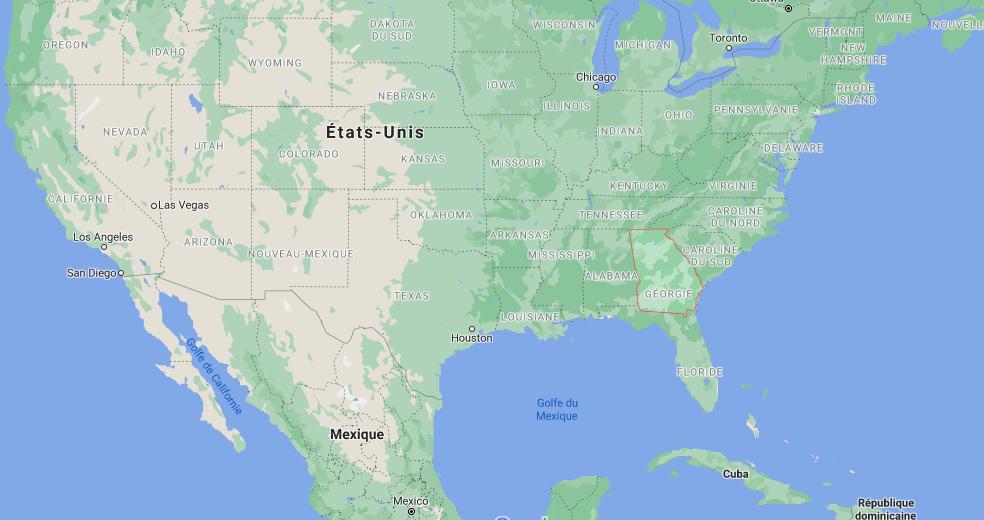 Quelle est la capitale de Géorgie (États-Unis)