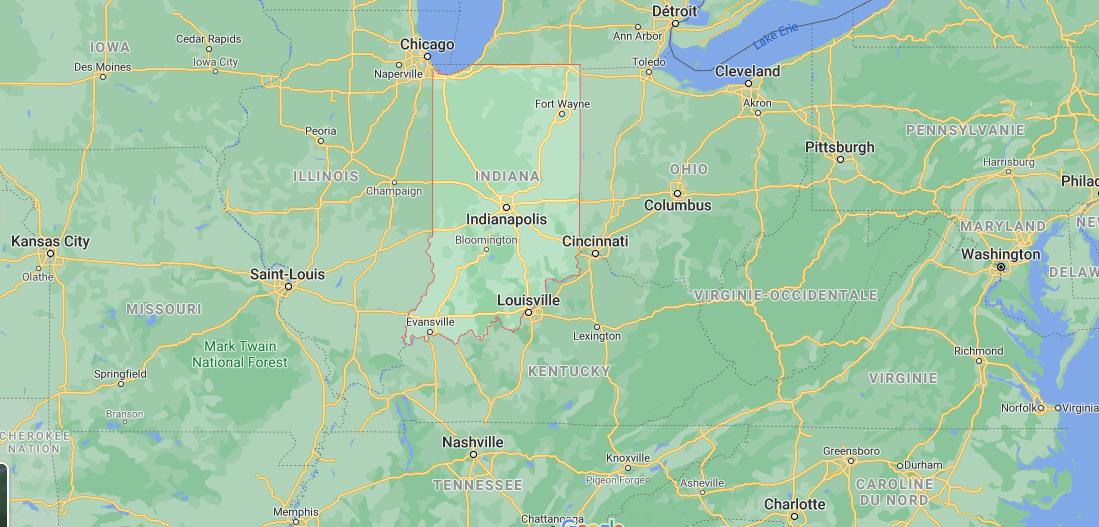 Quelle est la capitale de Indiana
