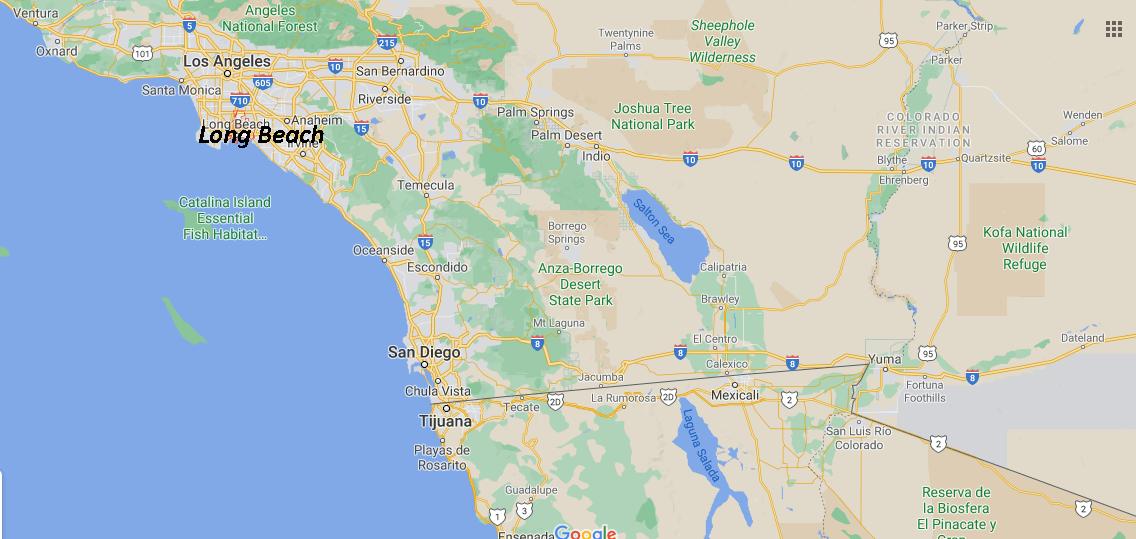 Quelle est la capitale de Long Beach