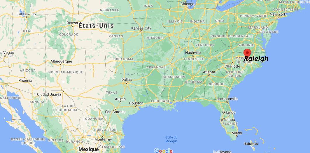 Quelle est la capitale de Raleigh