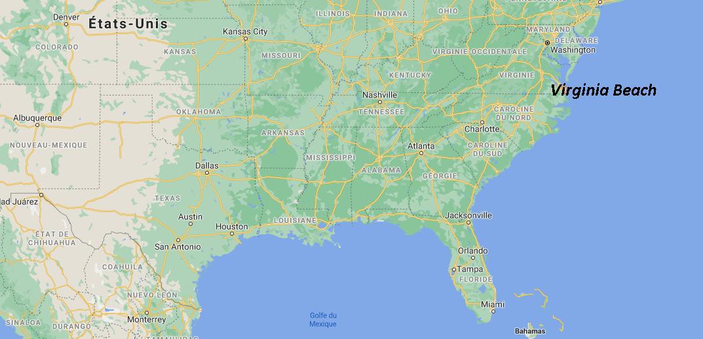 Quelle est la capitale de Virginia Beach