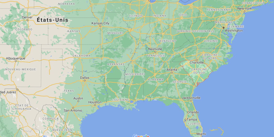 Quelle est la capitale du Caroline du Sud