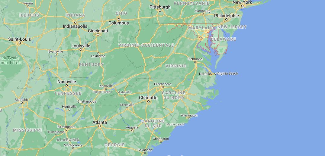 Quelle est la capitale du Maryland