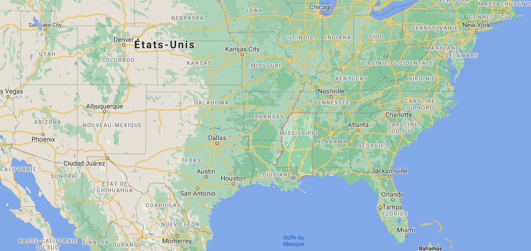 Quelle est la capitale du Mississippi