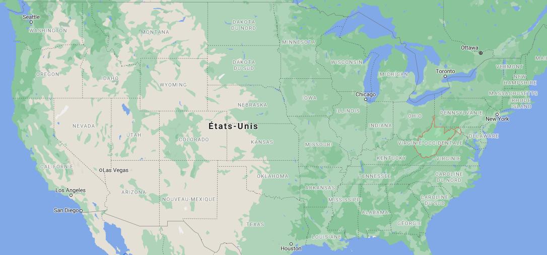 Quelle est la capitale du West Virginia