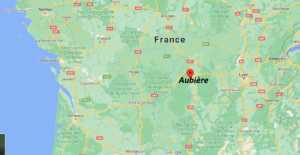 Dans quelle région se trouve Aubière