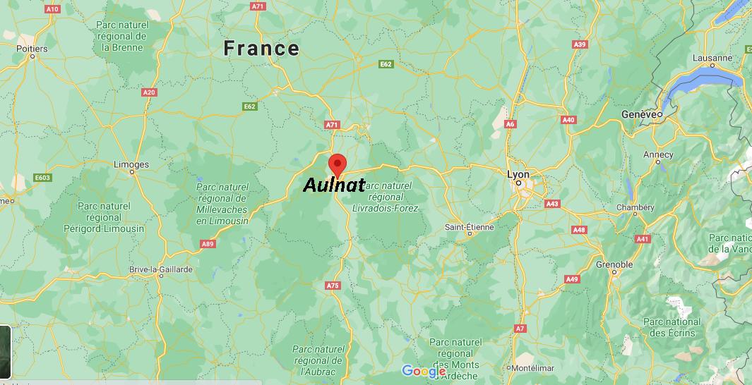 Dans quelle région se trouve Aulnat