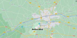 Dans quelle région se trouve Ballan-Miré