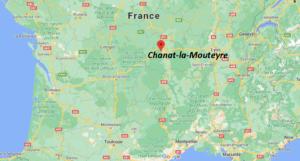 Dans quelle région se trouve Chanat-la-Mouteyre