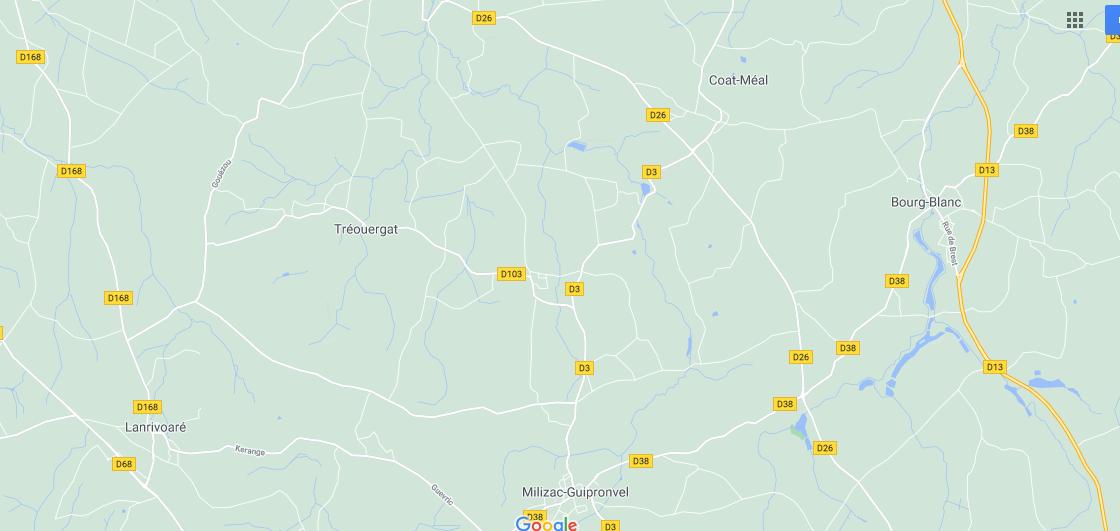 Dans quelle région se trouve Guipronvel