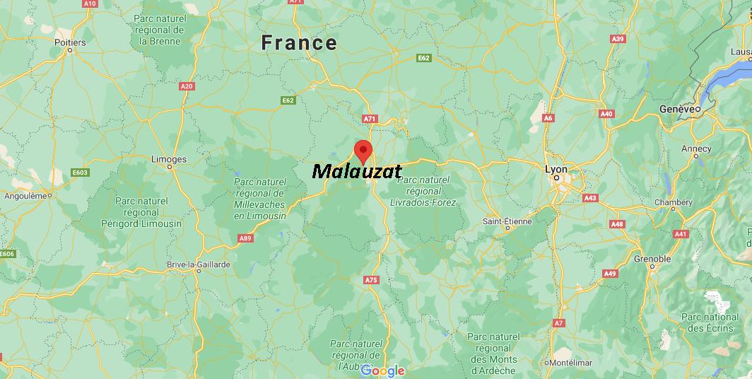 Dans quelle région se trouve Malauzat