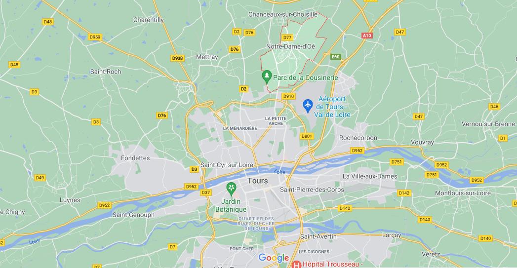 Dans quelle région se trouve Notre-Dame-d'Oé