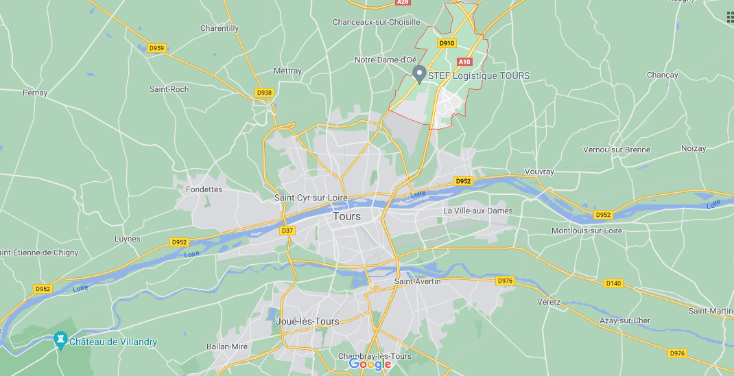 Dans quelle région se trouve Parçay-Meslay