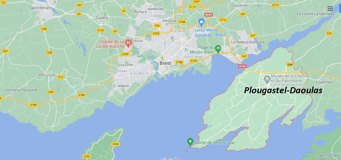 Dans quelle région se trouve Plougastel-Daoulas