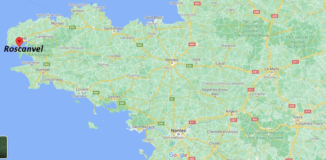 Dans quelle région se trouve Roscanvel