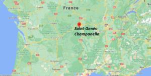 Dans quelle région se trouve Saint-Genès-Champanelle
