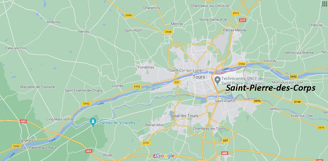 Dans quelle région se trouve Saint-Pierre-des-Corps