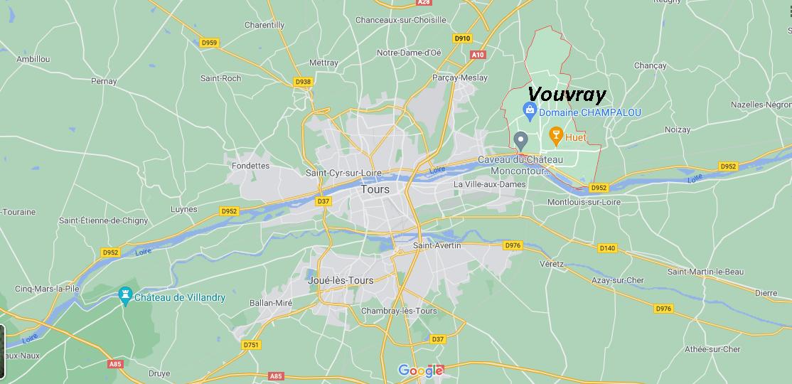 Dans quelle région se trouve Vouvray