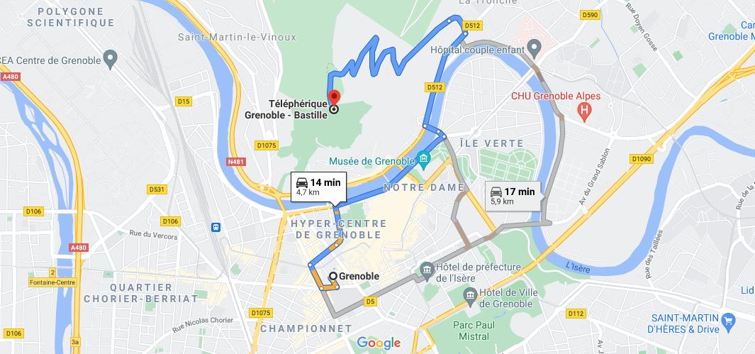Où en est le projet de métro câble à Grenoble