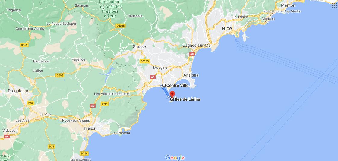 Où prendre le bateau pour les Iles de Lérins