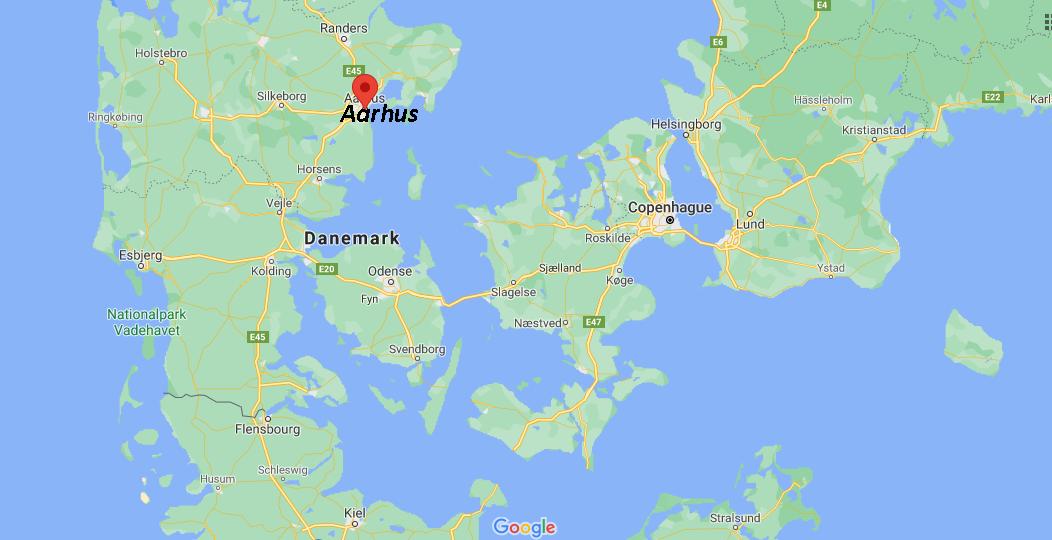 Où se situe Aarhus