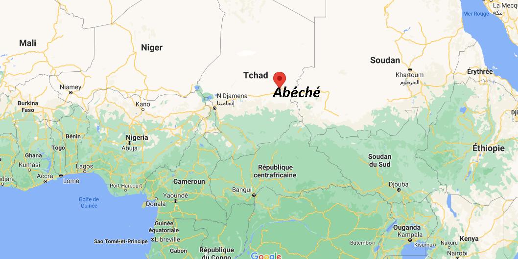 Où se situe Abéché