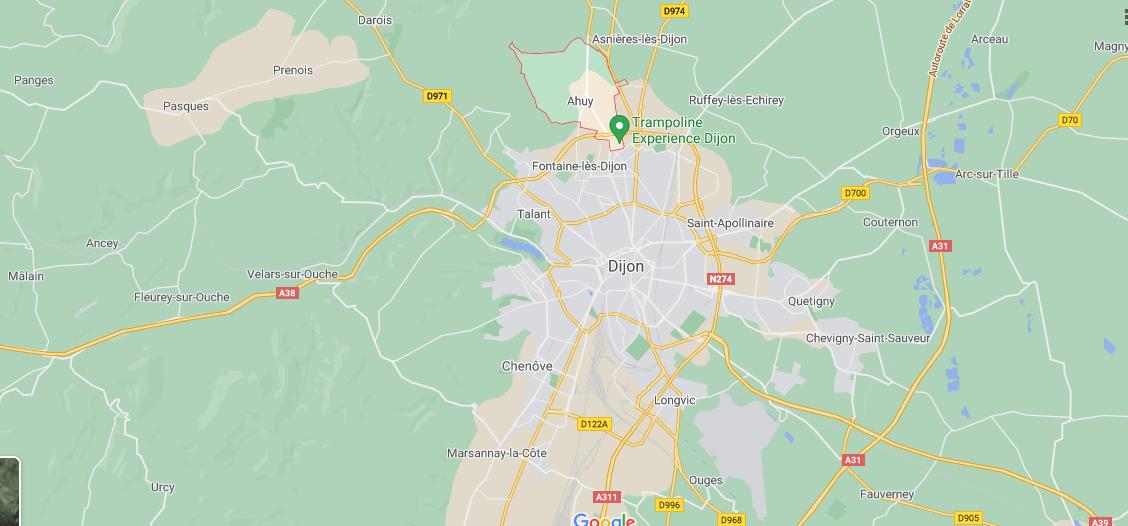 Où se situe Ahuy (21121)