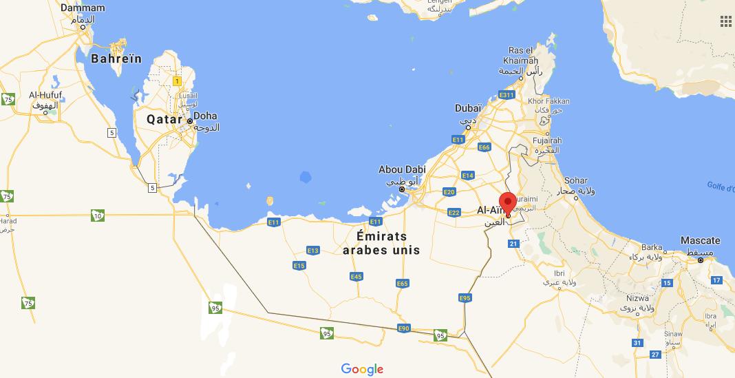 Où se situe Al-Aïn