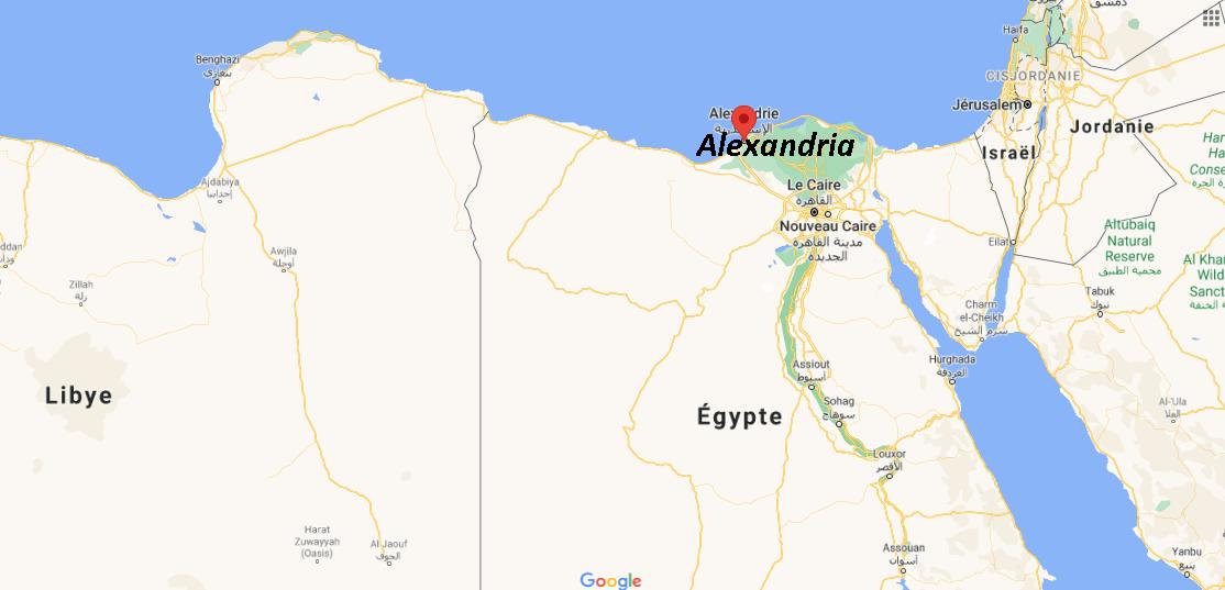 Où se situe Alexandria