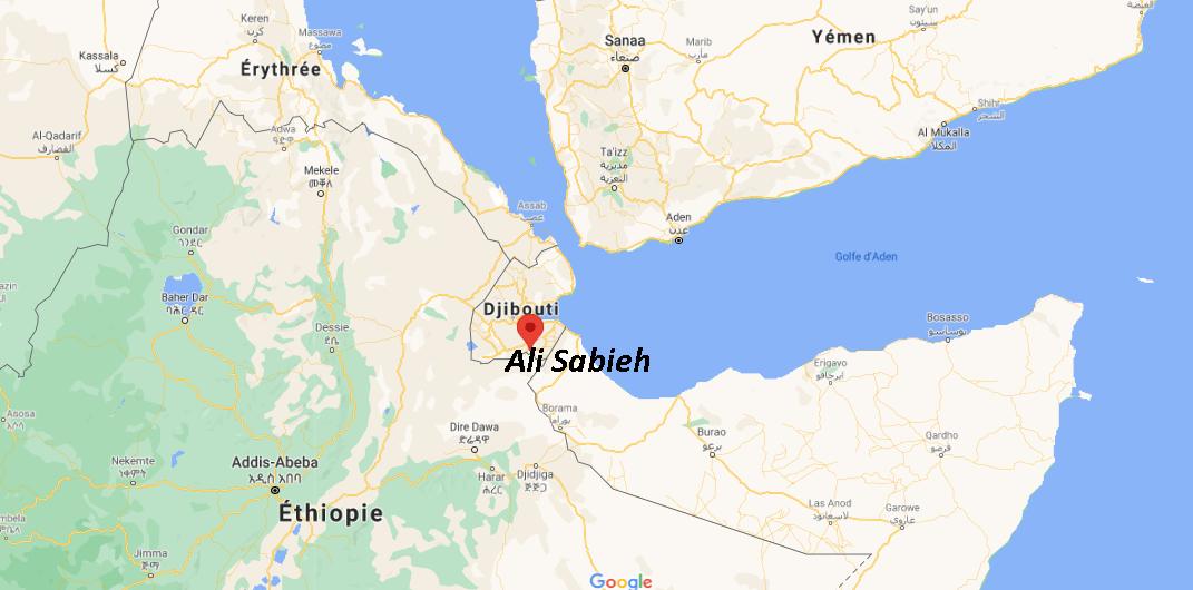 Où se situe Ali Sabieh