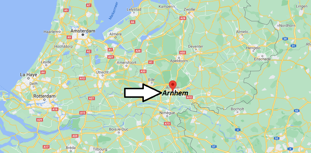 Où se situe Arnhem