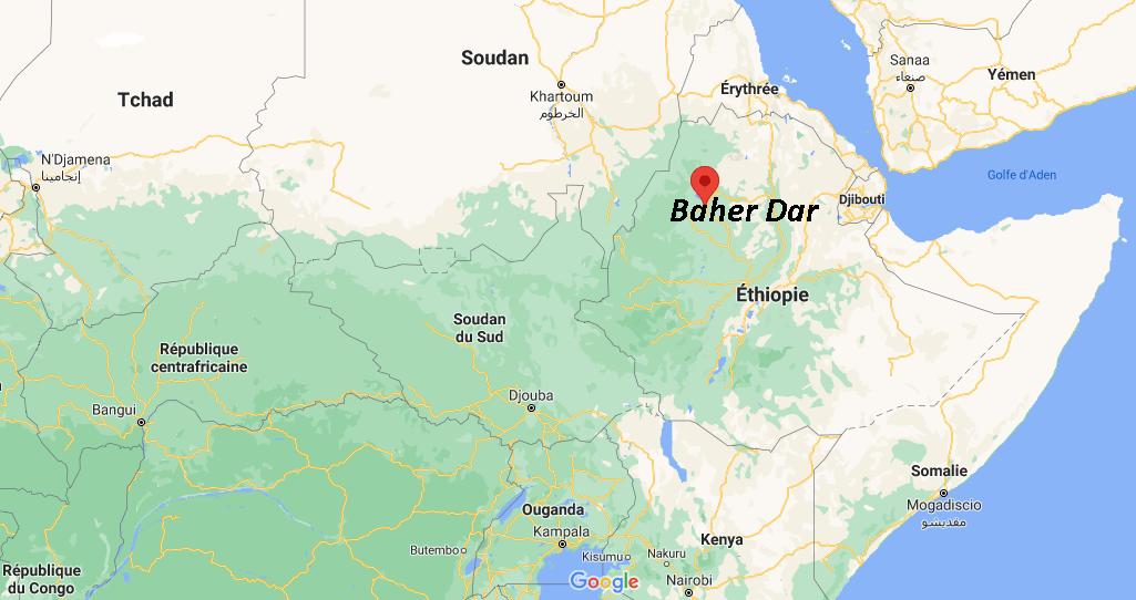 Où se situe Baher Dar