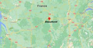 Où se situe Beaumont (Code postal 63170)