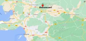 Où se situe Beaurecueil (Code postal 13100)