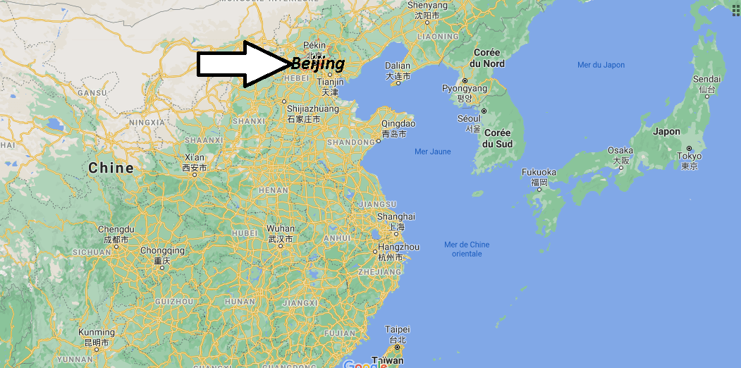 Où se situe Beijing