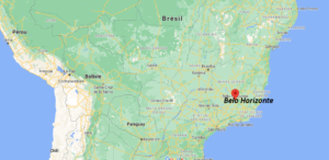 Où se situe Belo Horizonte