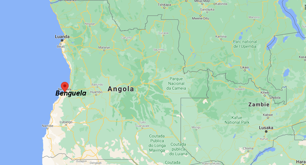 Où se situe Benguela