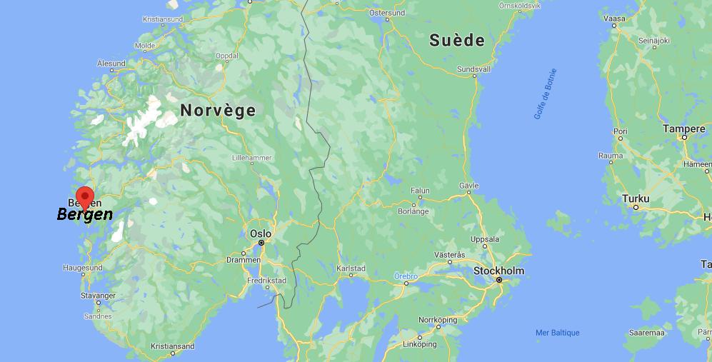 Où se situe Bergen