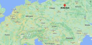 Où se situe Białystok